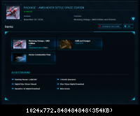 Contenu du package Mustang d'AMD pour Star Citizen Star Citizen