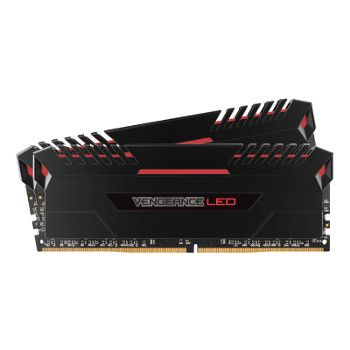 bon plan : Corsair Vengeance LED RED DDR4 2 x 8 Go 3200 MHz CAS 16