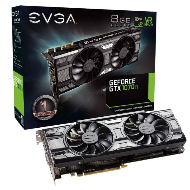 bon plan : evga geforce gtx 1070ti sc gaming acx 3.0