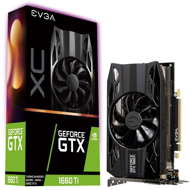 bon plan : EVGA GeForce GTX 1660 Ti XC GAMING à 289.95€