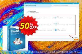 bon plan :  50% de remise sur EaseUS Data Recovery Wizard Pro