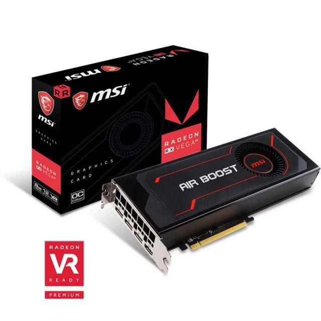 bon plan : MSI Radeon RX Vega 64 Air Boost OC