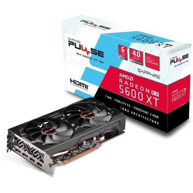 bon plan : Sapphire Radeon RX 5600 XT Pulse BE Dual - 6 Go