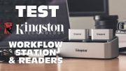 [Cowcot TV] Test KINGSTON WORKFLOW Station & Readers : pratique et efficace