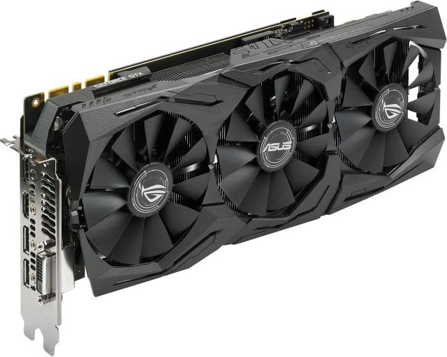 Asus GeForce GTX 1080 Ti ROG STRIX OC - 11 Go (ROG-STRIX-GTX1080TI-O11G-GAMING)