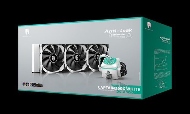 deepcool Captain 360X White