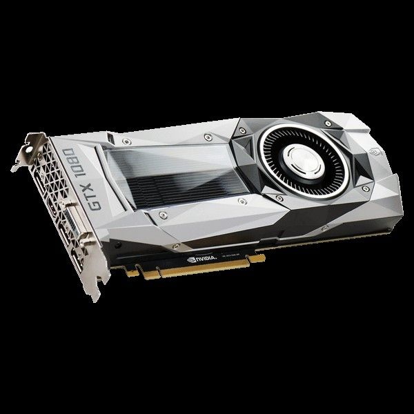 EVGA GeForce GTX 1080 Founders Edition - 8Go (08G-P4-6180-KR)