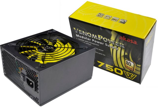 Akasa Venom Power 750W (AK-PA075AM01-EU)