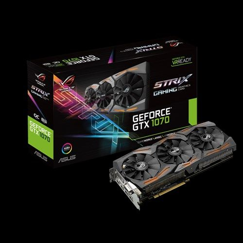 Asus GeForce GTX 1070 ROG STRIX - 8 Go (STRIX-GTX1070-8G-GAMING)