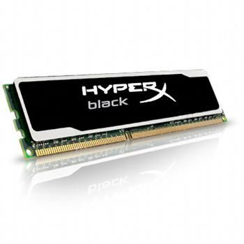 Kingston HyperX Black Series 8Go DDR3 PC12800 CAS10 (KHX16C10B1B/8)