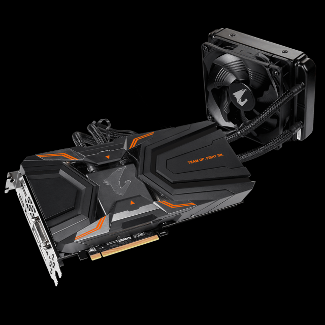 gigabyte Aorus Geforce GTX 1080 Ti Waterforce Xtreme Edition 11G