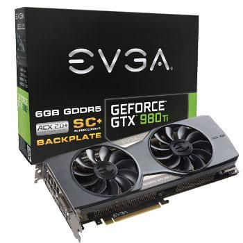 EVGA GeForce GTX 980Ti SuperClocked - 6Go (06G-P4-4995-KR)