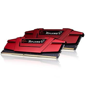 Ripjaws V Red DDR4 2 x 4 Go 2666 MHz CAS 15