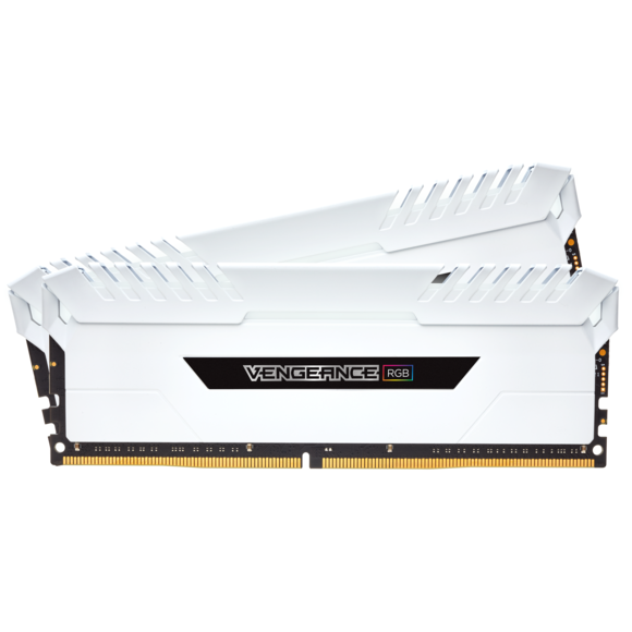 corsair VENGEANCE RGB White 16 Go (2x8 Go) 3000 Mhz DDR4 CL15