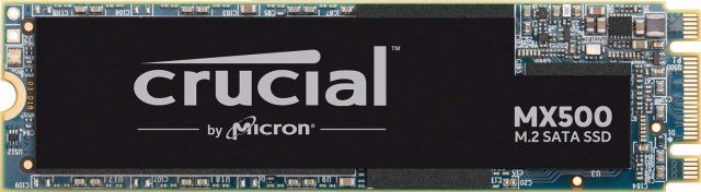 crucial MX500 1To M.2.