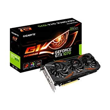 Gigabyte GeForce GTX 1070 GAMING G1 - 8Go (GV-N1070G1-8GD)