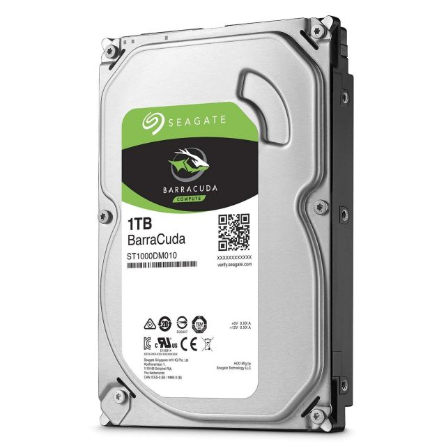 Seagate BarraCuda - 1 To SATA III (ST1000DM010)