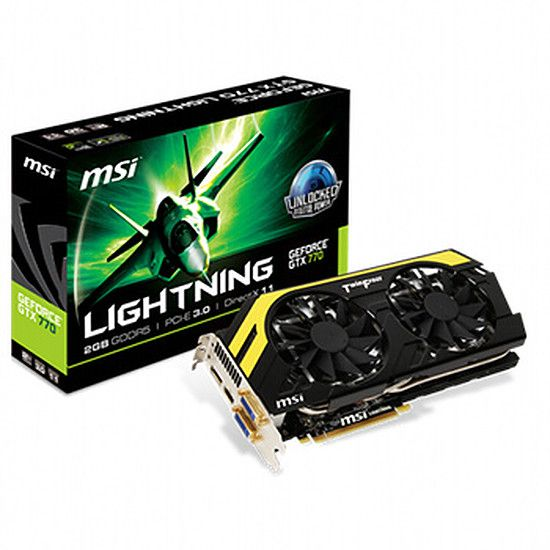 MSI GeForce GTX 770 - 2 Go (N770 Lightning)