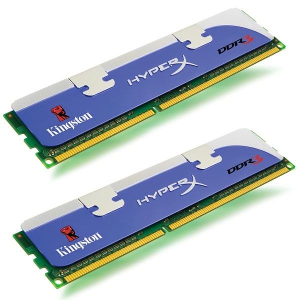 Kingston HyperX Fury Black 2 x 4Go DDR3 PC15000 (HX318C10FBK2/8)