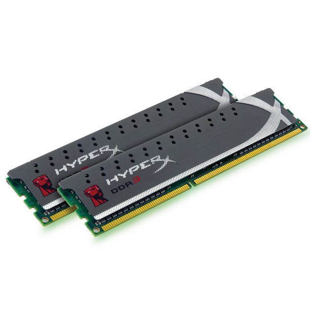 Kingston HyperX Genesis XMP X2 Grey Series 8Go Dual Channel DDR3 PC12800 CAS9 (KHX1600C9D3X2K2/8GX)