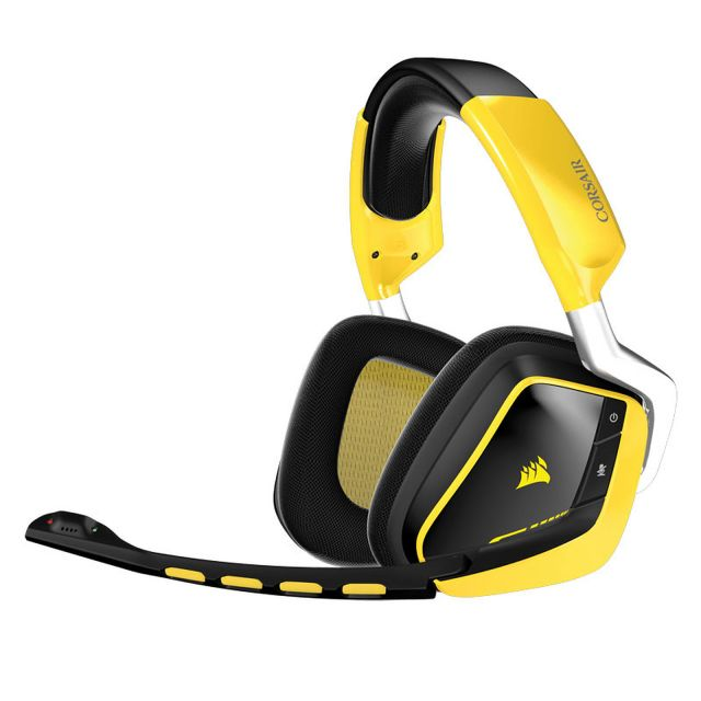 Casque Micro Corsair Void Dolby 7.1 Wireless Edition Jaune