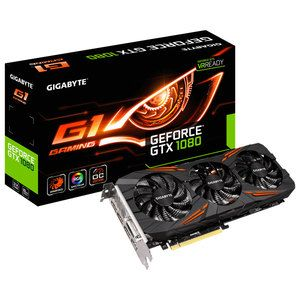 Gigabyte GeForce GTX 1080 Gaming G1 - 8Go (GV-N1080G1 GAMING-8GD)