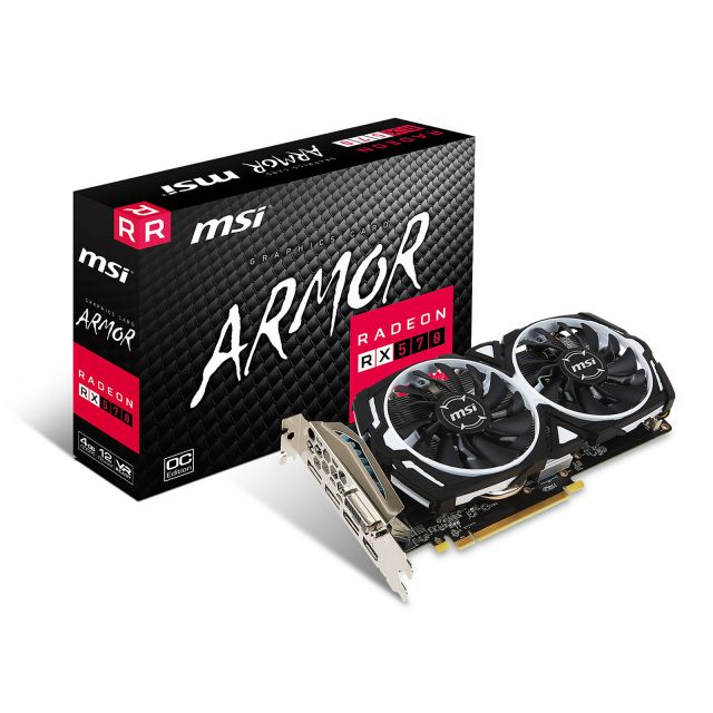 msi Rx 570 armored 4 Go