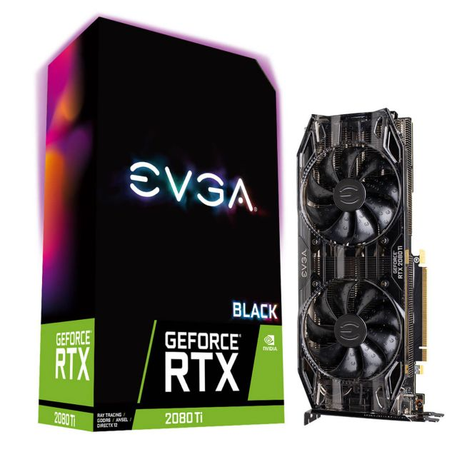 GeForce RTX 2080 Ti BLACK EDITION GAMING, 11 Go