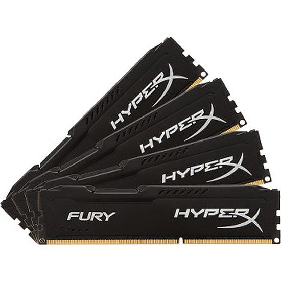 Kingston HyperX Fury 4 x 8 Go DDR4 PC21300 (HX426C15FBK4/32)