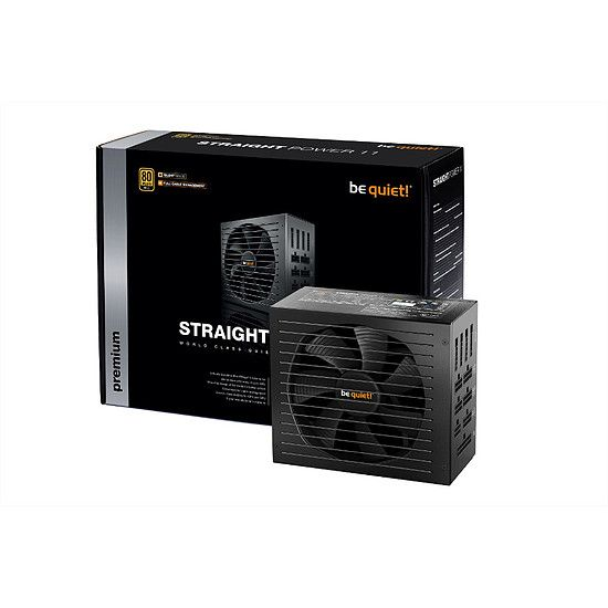 Straight Power 11 750W, Full modulaire, 80 PLUS Or
