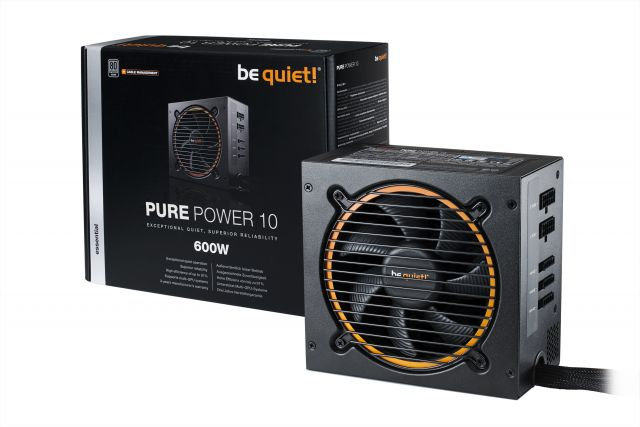 be-quiet Pure Power 10 CM - 600W