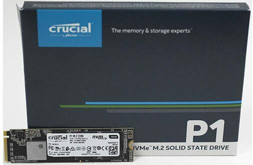 CT1000P1SSD8 - P1 1 To 3D NAND M.2 NVMe PCIe