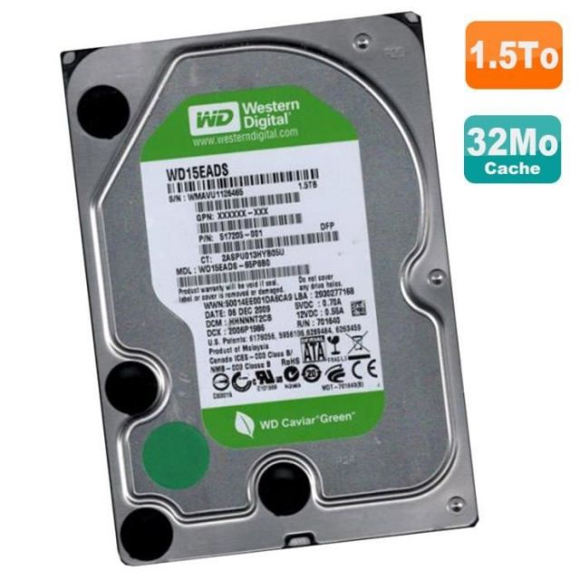 Seagate Barracuda Green 2To SATA III 5900 trs/mn 64Mo (ST2000DL003)