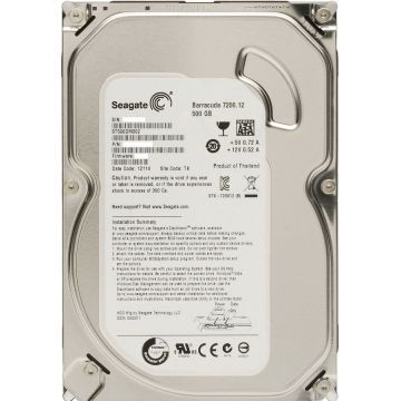 Seagate Barracuda 500 Go 7200.12 SATA III 16Mo (ST3500413AS)