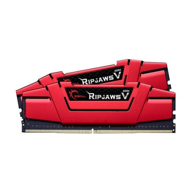 G.Skill Mémoire PC Ripjaws V - DDR4 - Kit 16Go (2x 8 Go) - 2400 MHz - CL15 - Rouge F4-