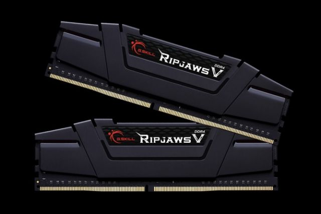 g-skill Ripjaws V Black 2 x 8 Go DDR4 PC25600 (F4-3200C16-8GVK)