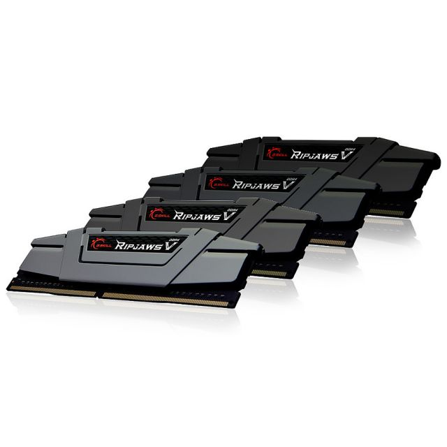 G.Skill Ripjaws V Black 4 x 8 Go DDR4 PC25600 (F4-3200C16Q-32GVK)