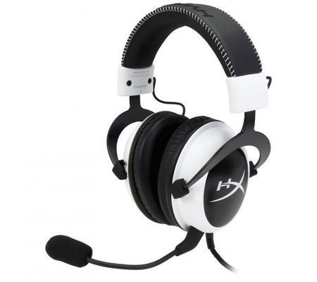 Kingston HyperX Cloud - Blanc