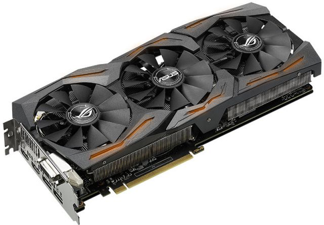 Asus GeForce GTX 1070 ROG STRIX OC - 8 Go (STRIX-GTX1070-O8G-GAMING)