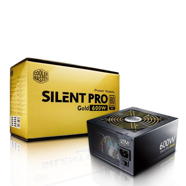 Cooler Master Silent Pro Gold 600W