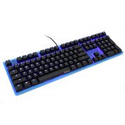 Ducky Channel One transparent (MX Red - leds bleues)