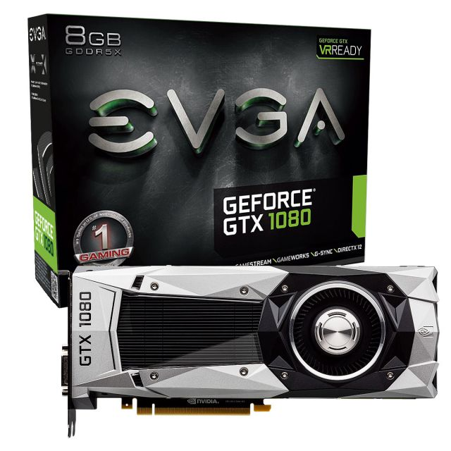 EVGA GeForce GTX 1080 SuperClocked Gaming - 8Go (08G-P4-6183-KR)