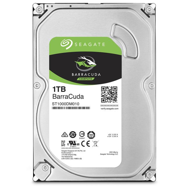 Seagate Barracuda 1 To SATA II 32Mo (ST31000333AS)