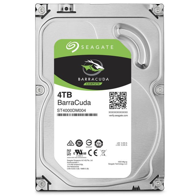 Seagate Barracuda 7200.11 4 To SATA III 64Mo (ST4000DM000)