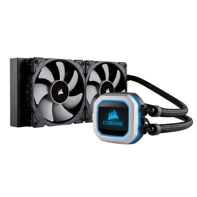 corsair h100i pro RGB + be quiet silent wing 3