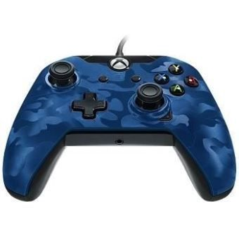 pdp manette X BOX ONE bleue camouflage