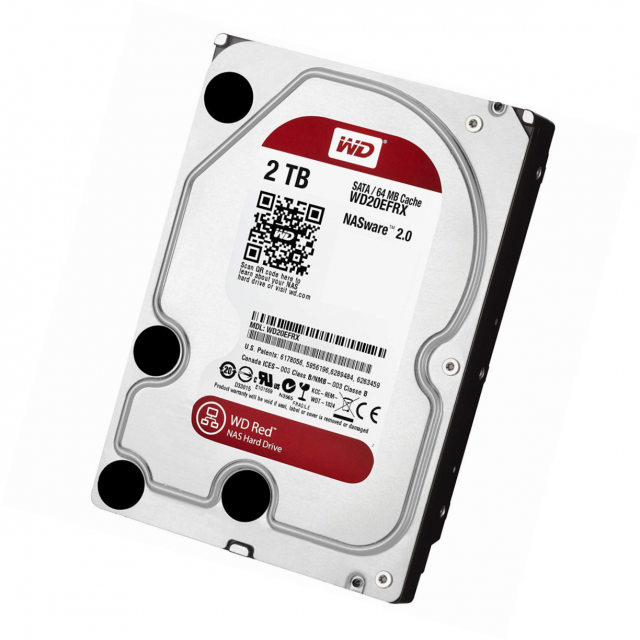Western digital WD20EFRX - RED RD1000M 2To SATA III 64Mo