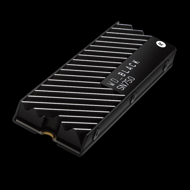 WD_BLACK SN750 NVMe™ SSD with Heatsink