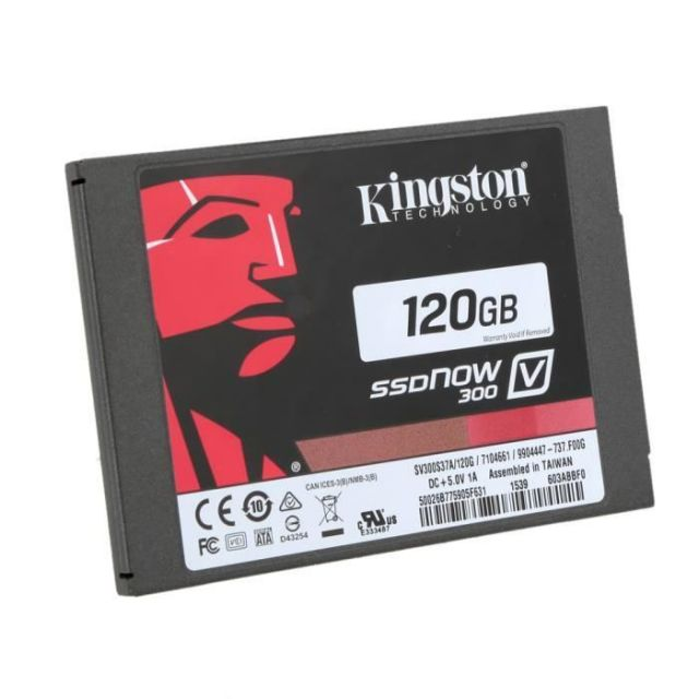 Kingston SSDNow V300 Series 120Go SSD SATA III (SV300S37A/120G)