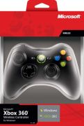 Microsoft Xbox 360 Controller for Windows - Manette de jeu - pour PC, Microsoft Xbox 360 - noir